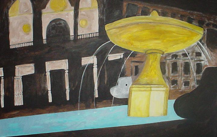 Yellow Fountain - Shamus Blues