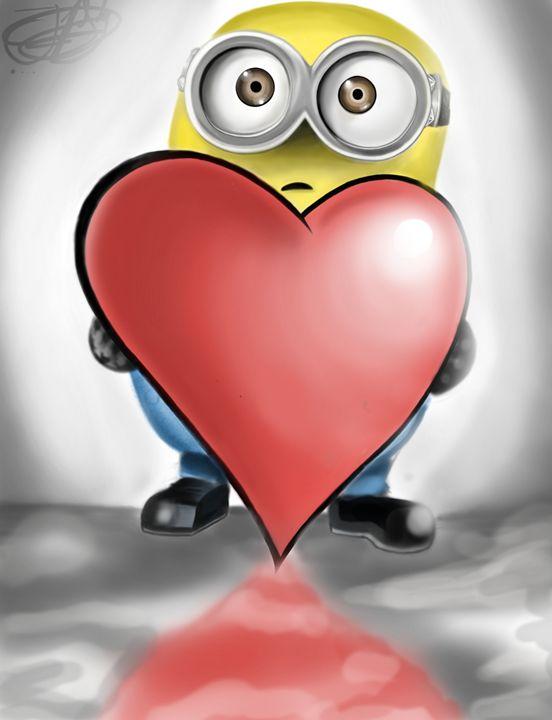 A Minion's Valentine - Blueskyartz