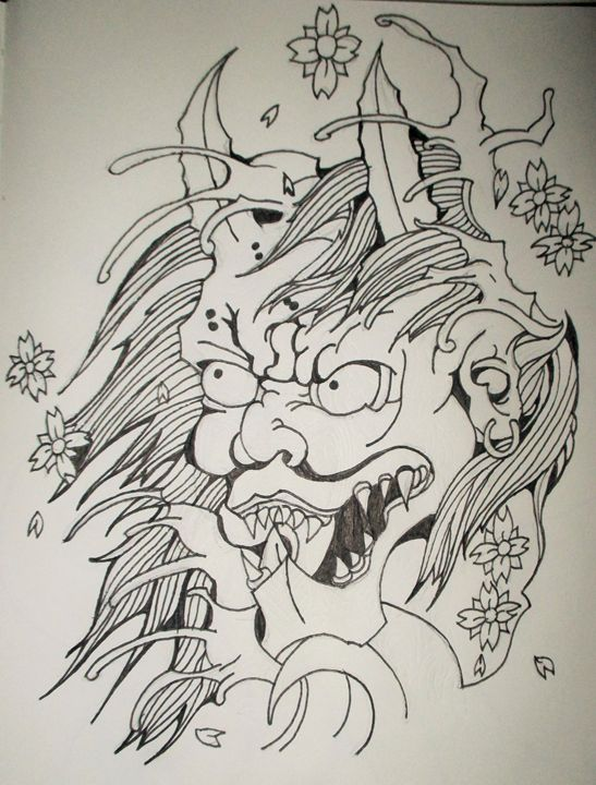IN THE WAY OF A BLOSSOM - INK_BY_REY