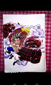 Luffy Gear Fourth
