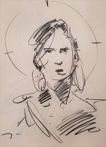 Jose Trujillo New Charcoal Portrait