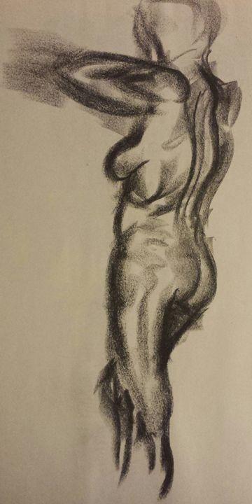 """Lady In Black """"Stress release"""" - Phoenix Gallery"""