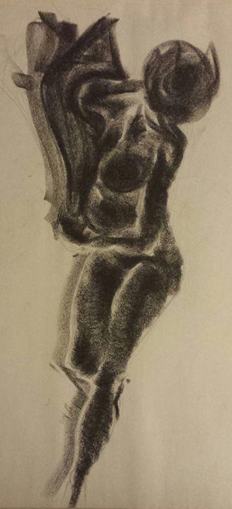 Lady In Black 4 - Phoenix Gallery