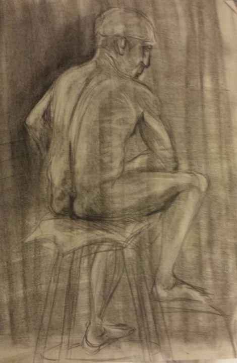Pondering Journey to Enlightenment - Phoenix Gallery