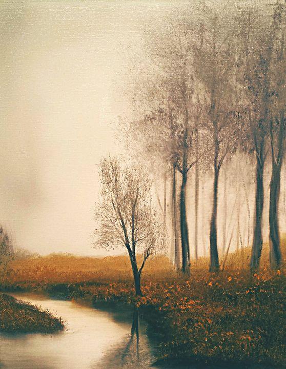 Sepia Autumn - LeanneScapes
