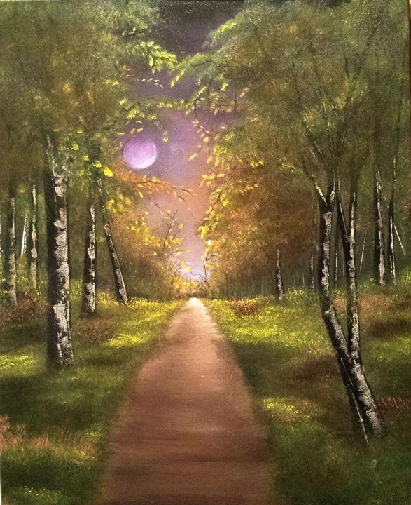 Llilac moon - LeanneScapes
