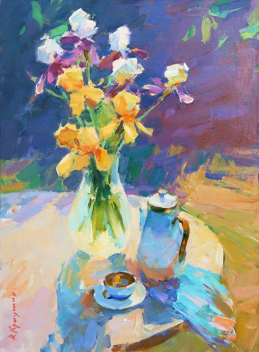 Bouquet of Irises - Kryushyn Aleksandr