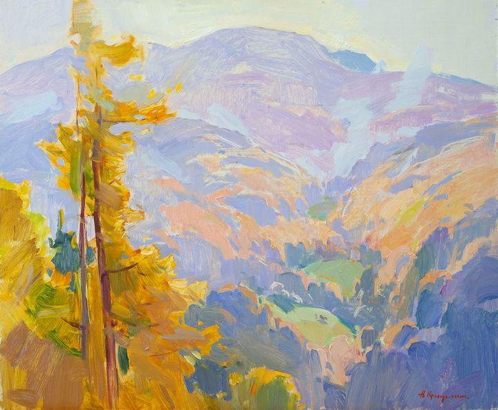 High in the mountains. Carpathians - Kryushyn Aleksandr