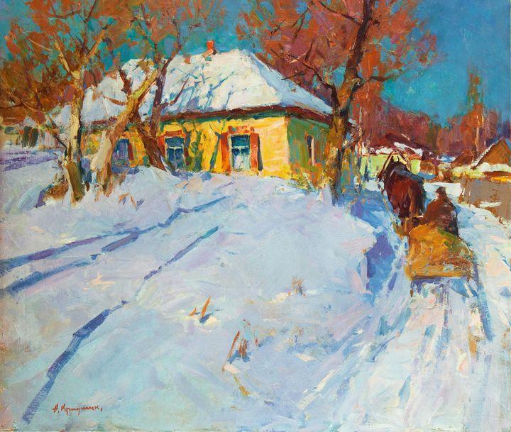 Winter sun - Kryushyn Aleksandr