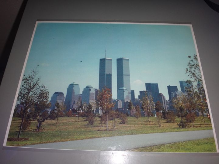 Twin Towers photograph - Photo Perusic