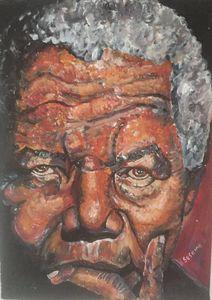 Nelson Mandela Portrait