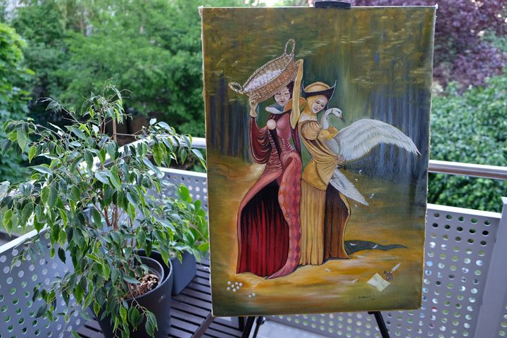 Oil painting 50x70 - GabrielaTodosi