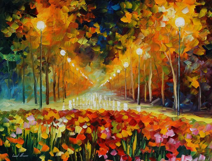 landscapes and flowers - Palatov