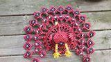 Model Origami Peacock