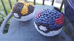 Module Origami Pokémon Ball