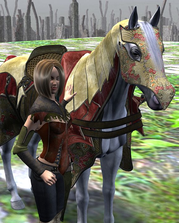 Armored Horse - Machobubba Creations