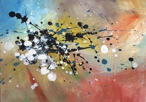 Acrylic on canvas - Sky Dance