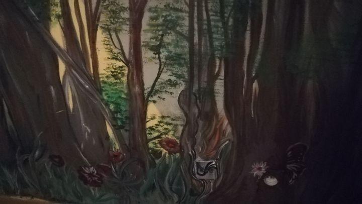 Suite fresque mural 3 - Mind Peint