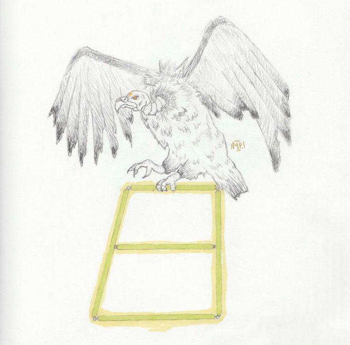Vulture cliqueart - Anathema._.a's shop