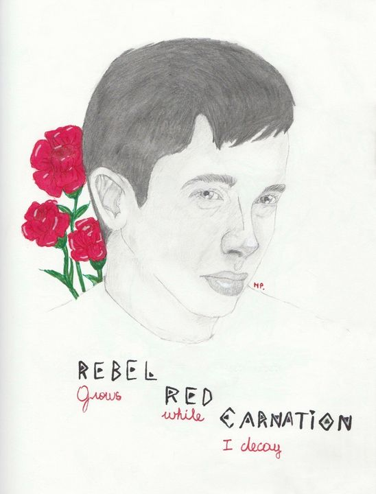 Rebel red carnation cliqueart - Anathema._.a's shop