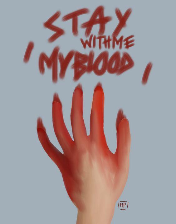 My blood digital cliqueart - Anathema._.a's shop