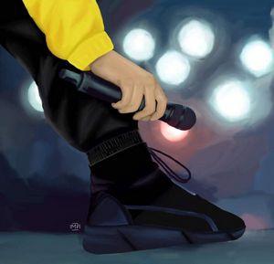 Tyler's ankles digital cliqueart