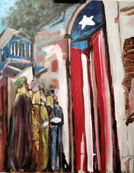 Los Reyes siguiendo una Estrella - Jorarte Gallery