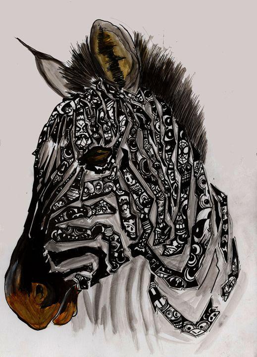 I-spy Zebra - Octopusiscool