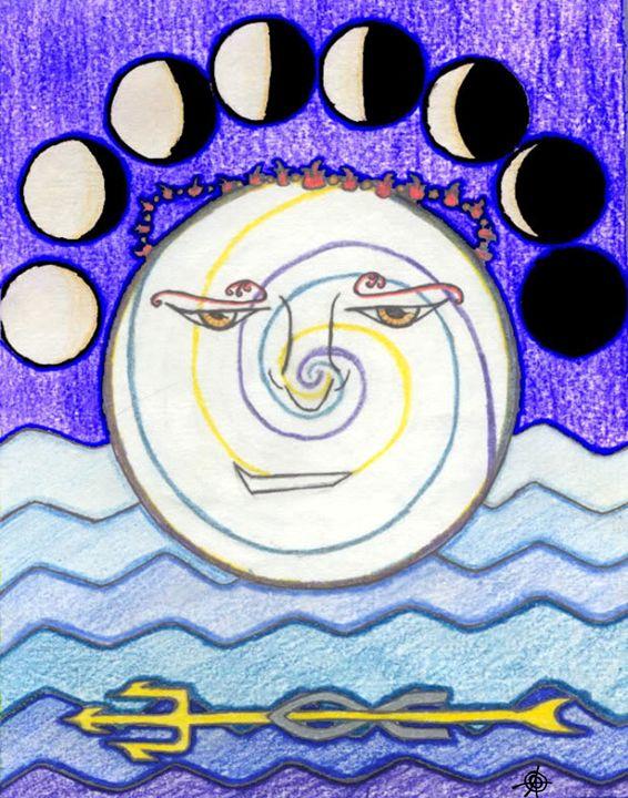 The Moon - Oliver Orlob