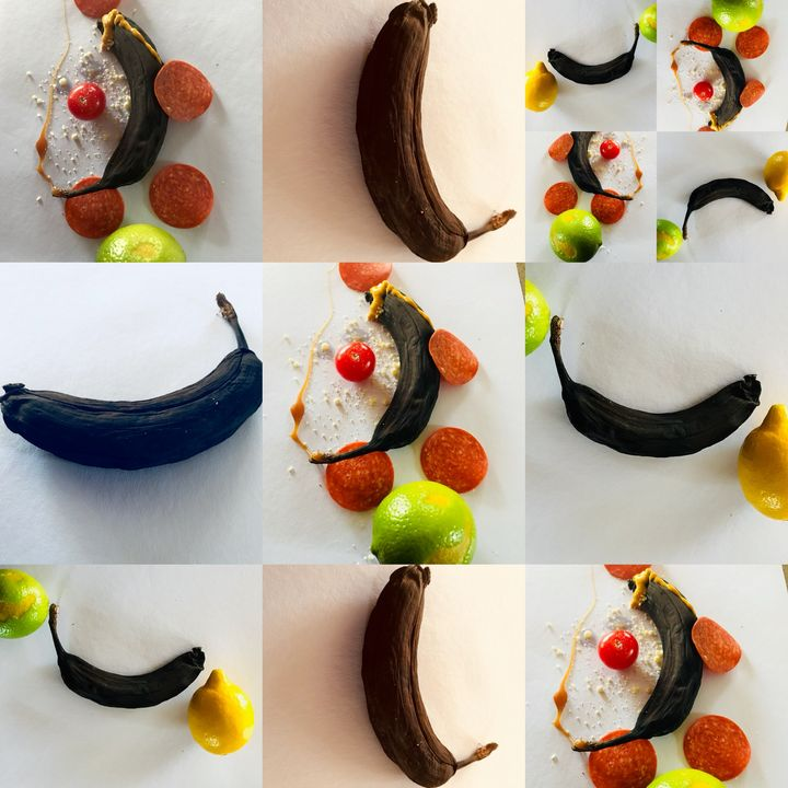 Fruit, Food, Art Collage - UHaveAnEye4Art
