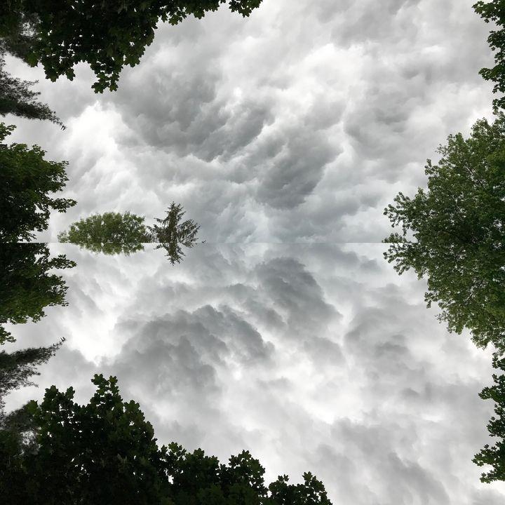 Spearmint Clouds - UHaveAnEye4Art