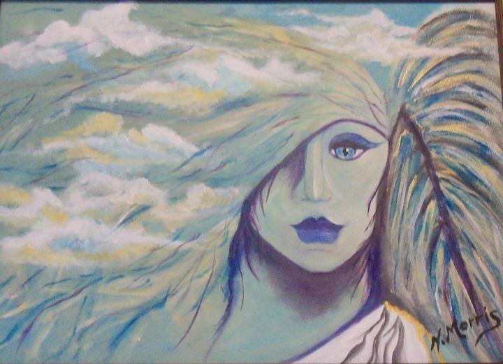 In the clouds - Nancy Morris