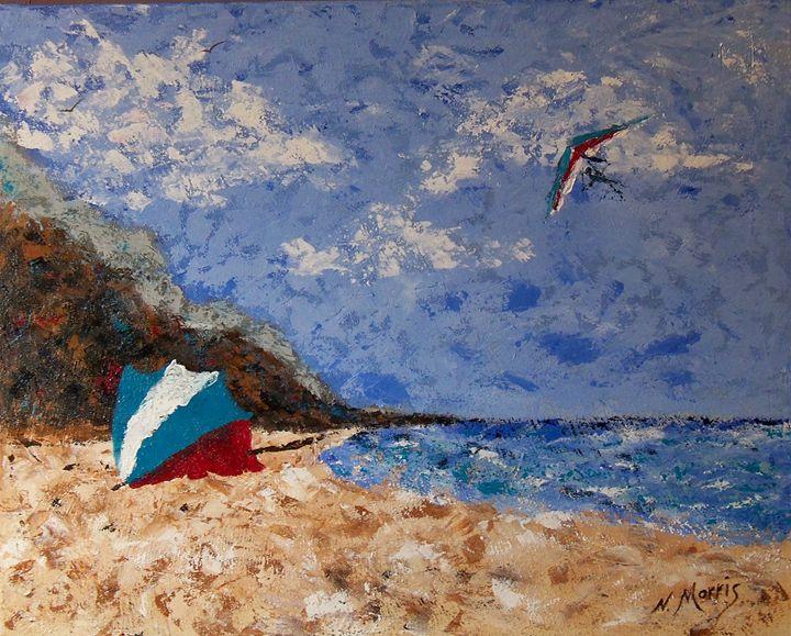 A Day at the Beach   2011 - Nancy Morris