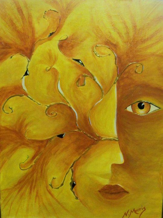 Face within a Face - Nancy Morris