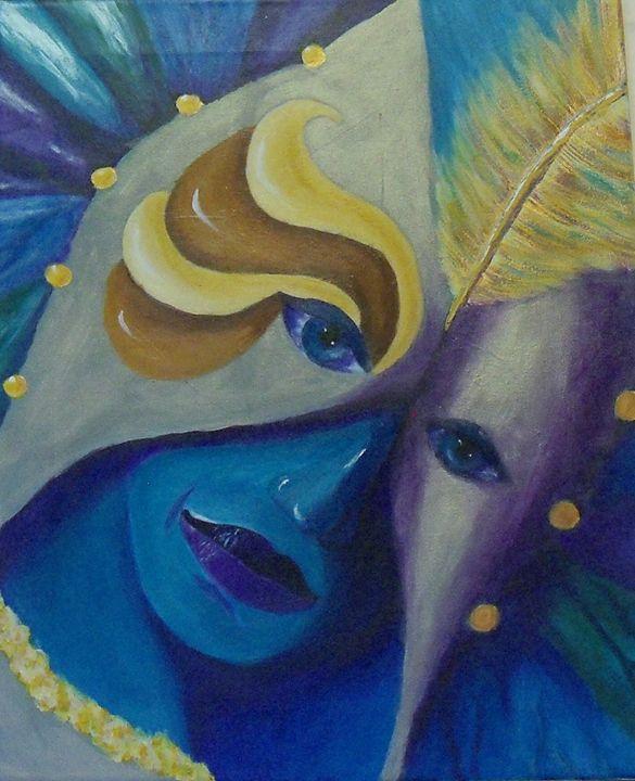 Mardi Gras IV - Nancy Morris