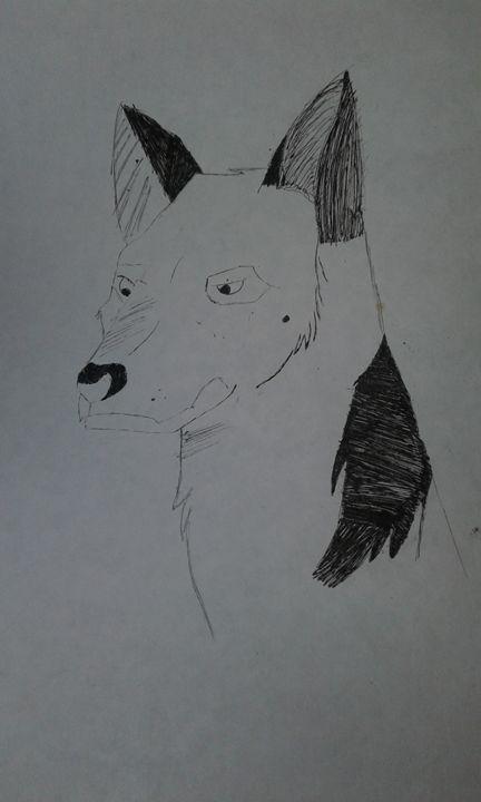 Wolf - My Favorite Cartoon Drawings