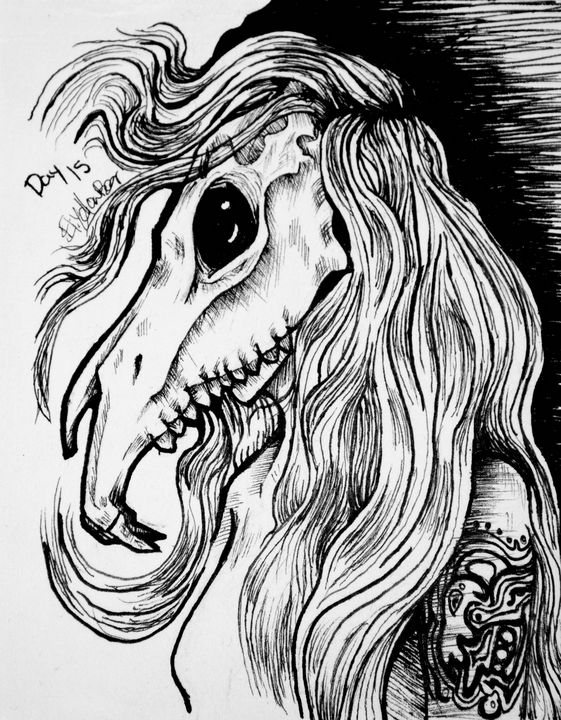 Legend: La Siguanaba - EliYellowBear ArtFart