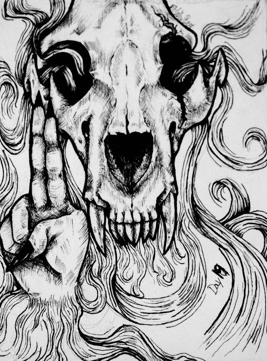 Bones - EliYellowBear ArtFart