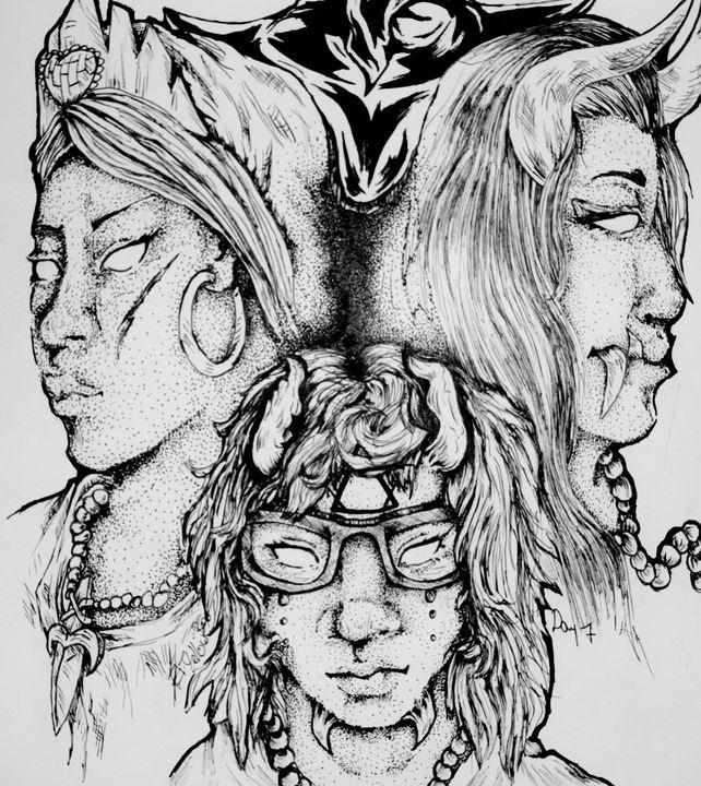 Witches/Enchantment - EliYellowBear ArtFart