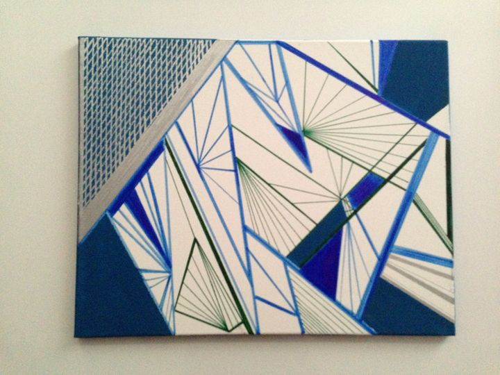 TURQUOISE LINES - Artlover102