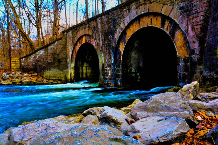 Water under the bridge - Mandi May photography