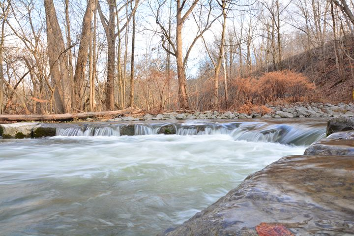 river cascade - Mandi May photography