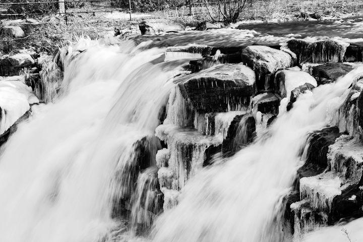Winter waterfalls - Mandi May photography