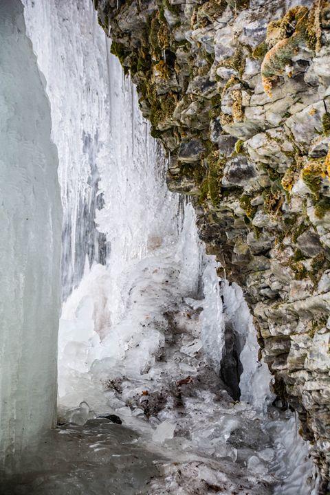 Frozen falls - Mandi May photography