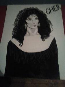A Portrait of the legendary Cher