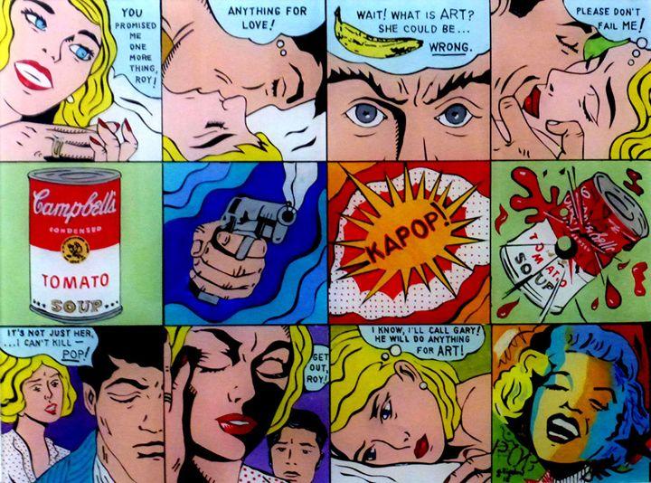 KAPOP: A Pop Art Parody - Gary Bigelow