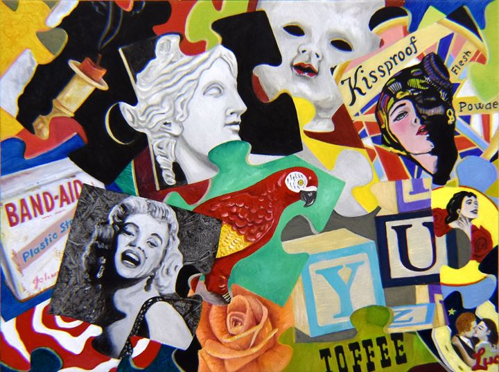 Vanity Puzzle - Gary Bigelow