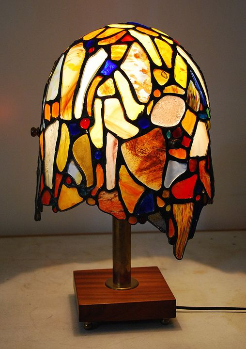 TIFFANY style lamp - Ragusitu Daniel