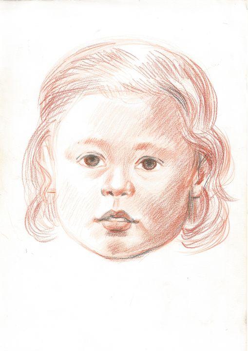 portret of child - Ragusitu Daniel