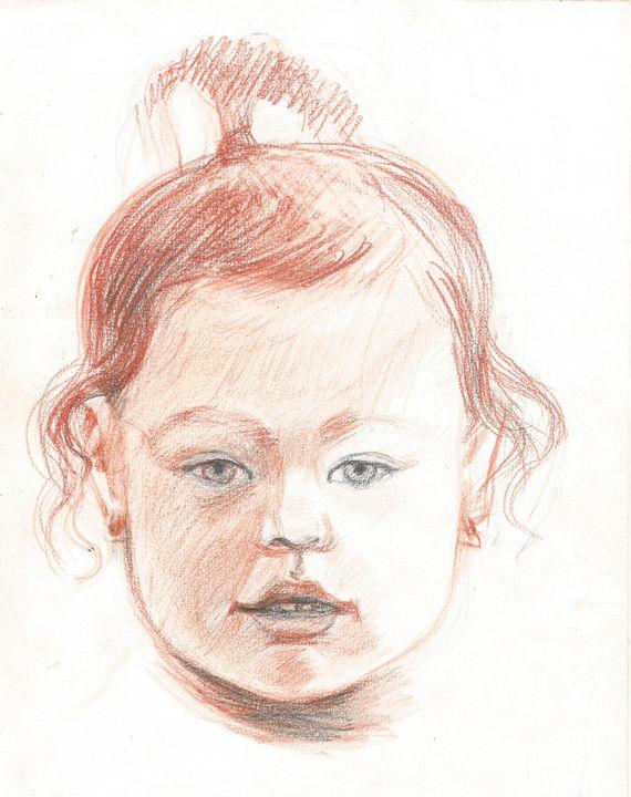 portrait of child - Ragusitu Daniel
